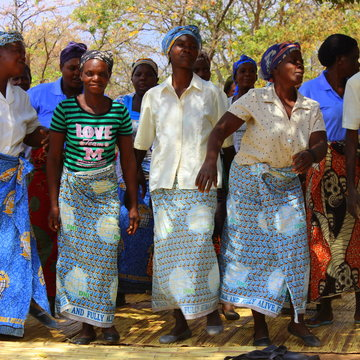 I díky Vám se mohou ženy v Zambii získat sebevědomí