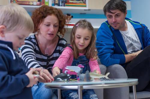 Skupinové aktivity pro rodiny v obtížné situaci