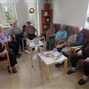 Senioři v Libici nad Cidlinou
