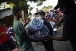 Přístřeší pro lidi zasažené zemětřesením v Indonésii