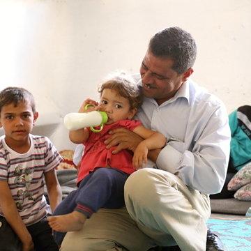 Aimar s rodinou žije v údolí Bikáa
