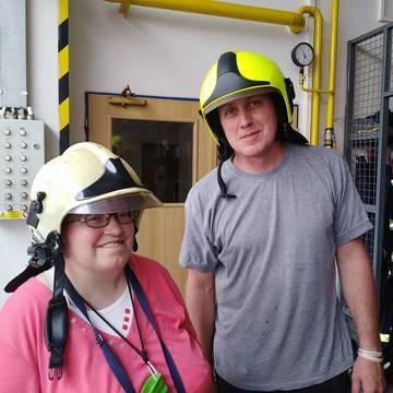 Návštěva hasičů